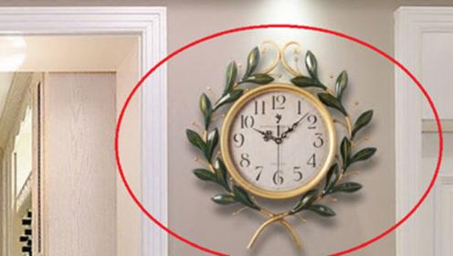 家里钟表,万万不能挂在这3个地方,不是迷信,现在挪走还来得及