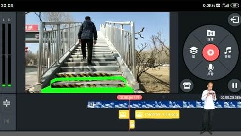 手机软件剪辑抖音热门楼梯掉落特效视频教程(二)