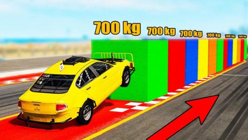 汽车加足马力的冲击力有多大?3D动画模拟,结果让人不可思议!