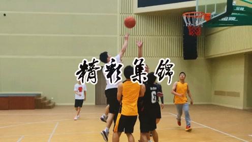 篮球友谊赛精彩集锦