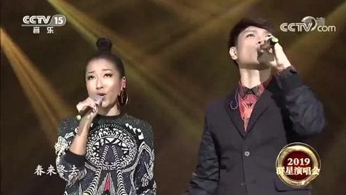 杨宗纬吉克隽逸演唱《在雨中》,最后一段和音,观众全体起立!
