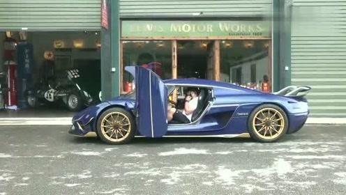 价值3000万的柯尼塞格Regera到货,看到实车那刻,才知道啥叫奢侈