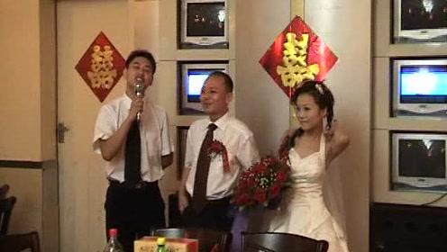 何建张慧湖北婚礼视频自拍2