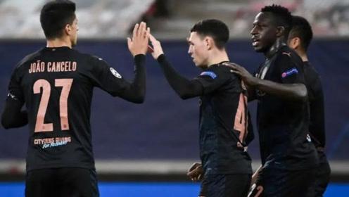 欧冠:福登破门 曼城1-0奥林匹亚科斯提前2轮出线