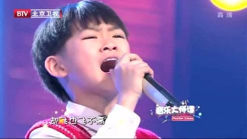 俩萌娃演唱《我是一只小小鸟》,隔声嘹亮,唱进心房