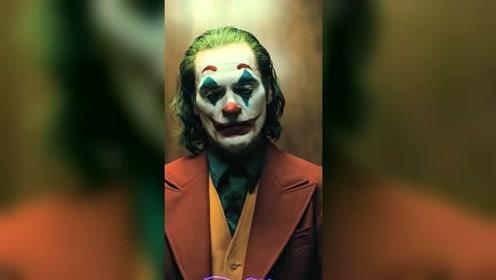 小丑精彩合集,演技真的说影帝级别的