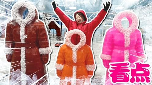 儿童乐园精彩看点:冰雪奇缘世界滑滑梯游玩