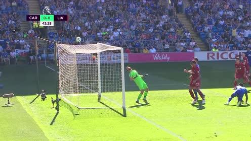 【集锦】利物浦2-0胜升至榜首 维纳尔杜姆破门米尔纳点射