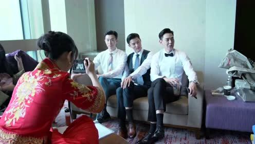 BTS: Cong Rong took photo for 3 men | My Little Happiness