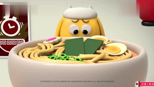 创意微搞笑动画:大吃货