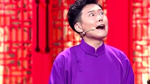 """相声有新人:孟鹤堂得到长寿秘诀""""晒着"""",台风稳健笑了"""