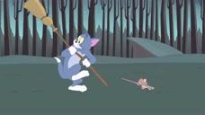 新猫和老鼠:汤姆杰瑞偷了主人的魔法棒和魔法扫把