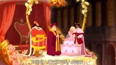 公主与青蛙:真正的王子被变成青蛙关进笼子,假王子正在和公主结婚