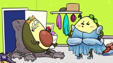 女孩效仿童话故事,买来好多老鼠帮忙打扫卫生,结果太搞笑了!
