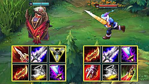 攻速装布隆 vs 六神装剑圣,剑圣:这是谁家的辅