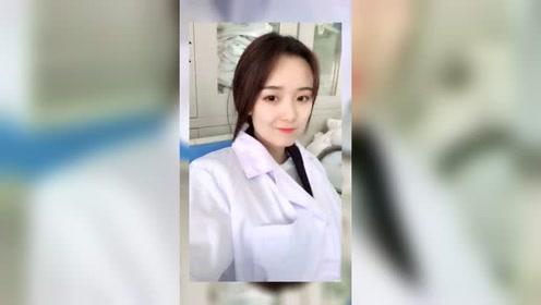 护士小姐姐看起来很悠闲啊,还有时间玩自拍,