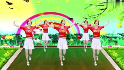 火爆网红舞《谁家的姑娘》音乐好听舞蹈欢快好看