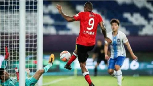中超第9轮:河北华夏幸福2-0上海上港 上港一团糟赛季首败。