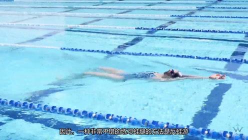蛙泳教学视频:手脚配合的时机,对蛙泳很关键
