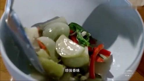 风味人间:盛产咖喱的泰国,没想到平常也是吃的绿咖喱