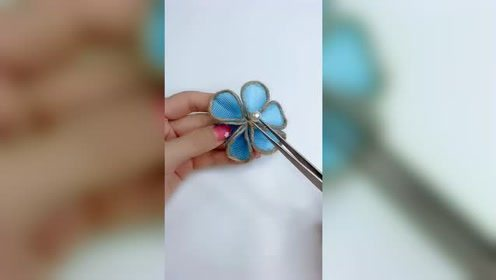 麻绳加筷子做成小饰品,挂在墙上真是太好看了!