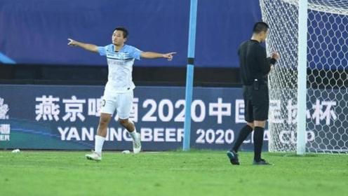 足协杯:上海申花4-6广州富力 通过点球大战,富力晋级第二轮。