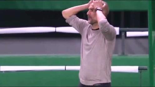 欧冠史诗级空门不进,能让瓜帅摸头杀的球员除了梅西还有谁?莱万,就是他了