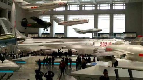 游军事博物馆,看各式各样的飞机