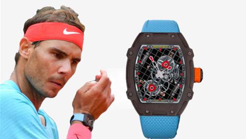 真壕!纳达尔法网佩戴价值712万手表,创造网球场最贵纪录