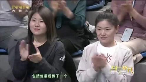 陈一冰讲述比赛没拿到冠军,当时的采访自己蛮想哭的,但是忍住了