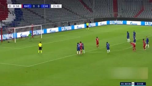 欧冠:莱万2球2助亚伯拉罕破门,拜仁总分71淘汰切尔西