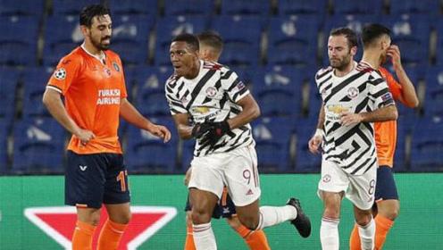 爆大冷!曼联1-2送伊斯坦布尔欧冠正赛首胜,马夏尔破门难救主
