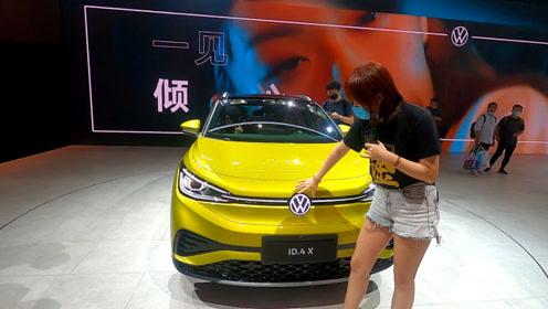 【视频】广州车展有科技感的车,大众ID.4X