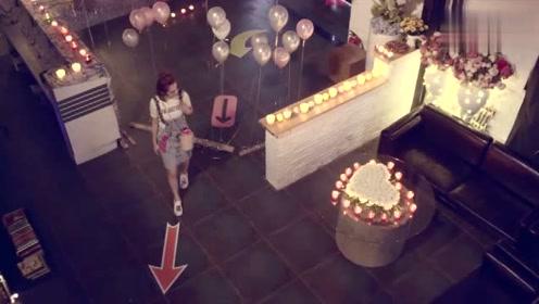 小米看到前女男友准备的视频,回忆起与他的过