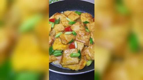 豆腐炒煎蛋也可以增加食欲#美食