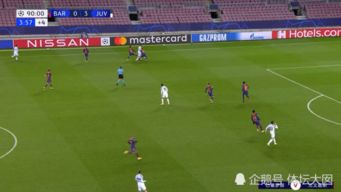 欧冠赛场,梅西和布冯赛后交换球衣