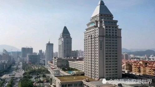 航拍广东江门市,不愧是国家二线城市,发展速度太快了!