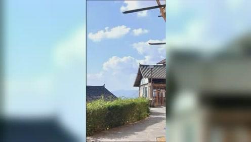 旅行肇兴侗寨旅行自拍视频