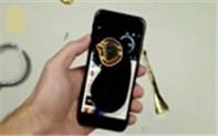 高温融化黄金置于iPhone屏幕