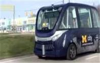 无人电动校车进美国校园
