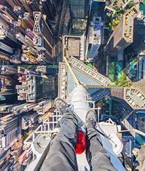 达人爬曼谷320米最高建筑