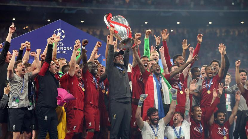 欧冠决赛:热刺0-2利物浦