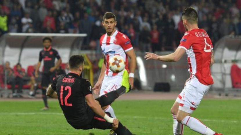 欧联杯-阿森纳1-0绝杀