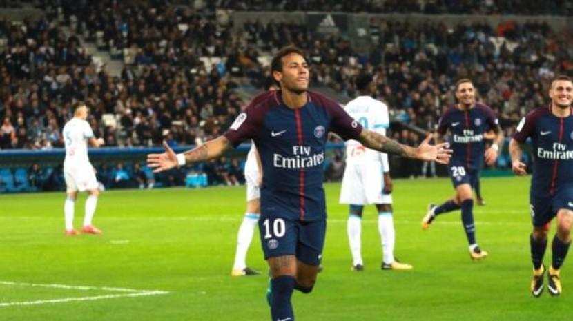 法甲-巴黎2-2马赛