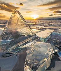 世界第一深湖贝加尔湖