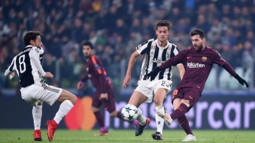 欧冠-巴萨0-0尤文提前1轮晋级