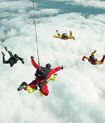 超高空速降的极限挑战