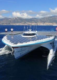 超级太阳能游艇