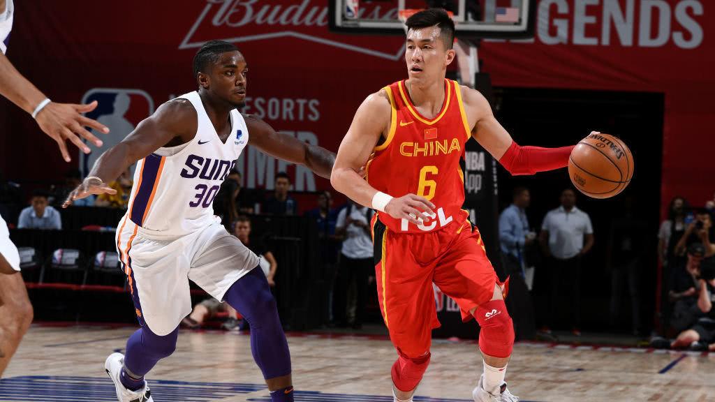 夏季联赛:中国64-94太阳