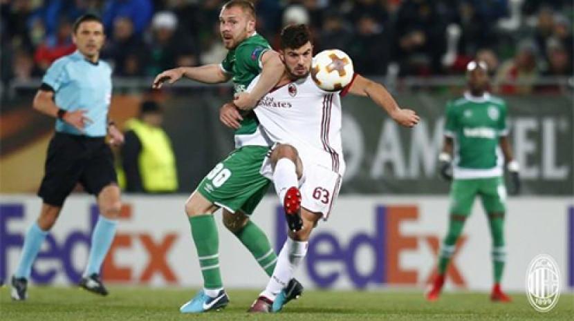 欧联杯-米兰3-0完胜